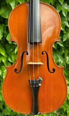 Old French Violin '' CHENANTAIS & LE LYONNAIS '' hand-signed & branded