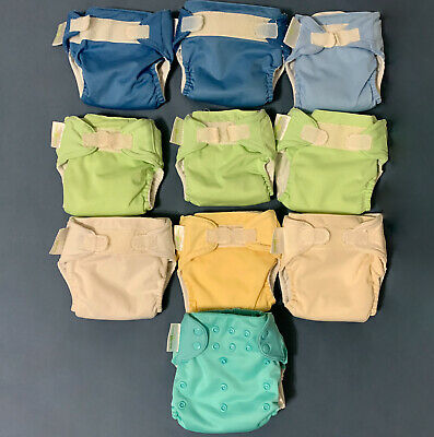 10 BumGenius All-In-One S Cloth Diapers