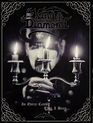 King Diamond Fully Signed Lithograph / Poster Limited to 150  Mercyful Fate