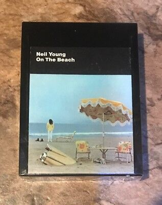On The Beach By Neil Young 8 Track Tape New /  Sealed A