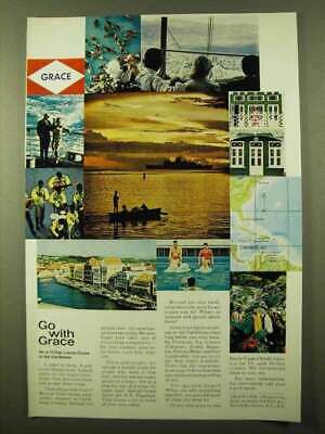 1966 Grace Line Cruise Ad