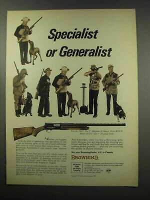 1967 Browning Automatic-5 Shotgun Ad - Specialist