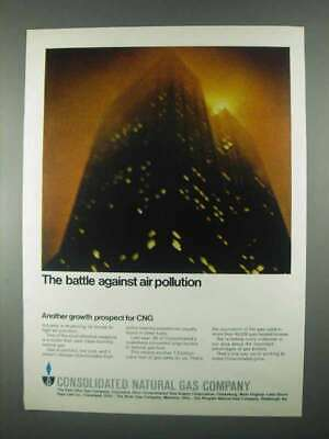 1967 Consolidated Natural Gas Ad - Air Pollution