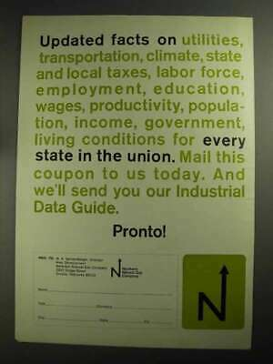 1968 Northern Natural Gas Company Ad - Facts