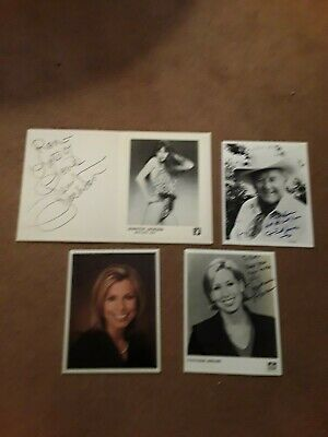 Lot Of (47) Various Autograph Photos-Free Shipping-Please Read Ad