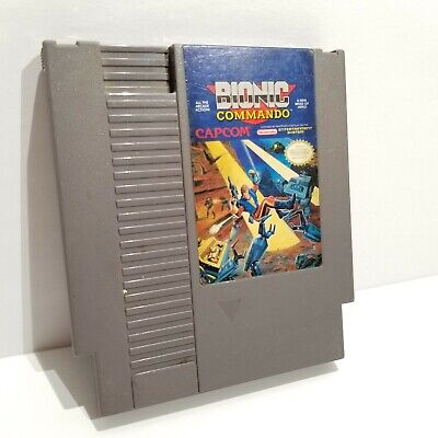 Bionic Commando (Nintendo Entertainment System, 1988) CART ONLY - WORKS