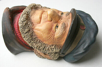 The Bosun chalkware head by Legend Products Made in England 1984