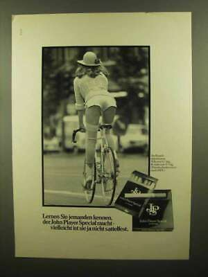 1979 John Player Special Cigarettes Ad - in German