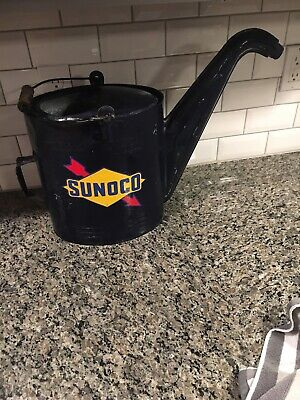 Vintage Sunoco Oil Watering Can