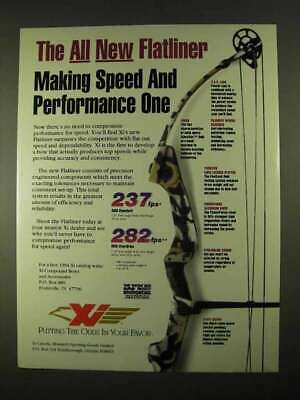 1994 Xi Flatliner Bow Ad - Speed and Performance One
