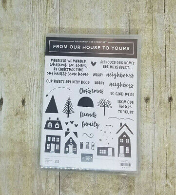 From our house to yours stamp set from Stampin' Up!  Holiday and more