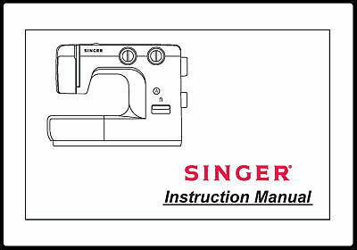Singer 1120 Sewing Machine User Manual Instructions Comb Binding Reprint