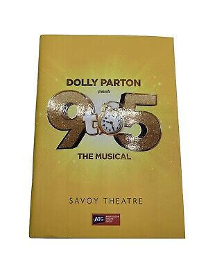 Dolly Parton's 9 to 5 The Musical 2019 London Cast Program