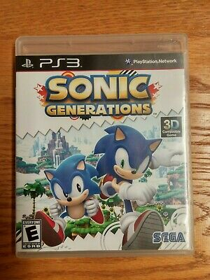 Sonic Generations (Sony PlayStation 3, 2011)   Complete