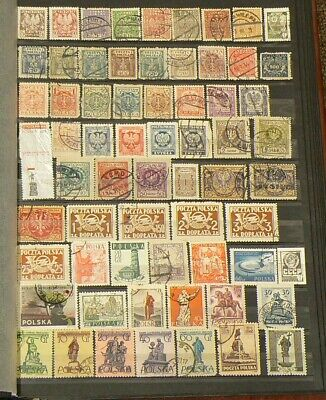 Poland Lot of Over 470 Cancelled Stamps #5173