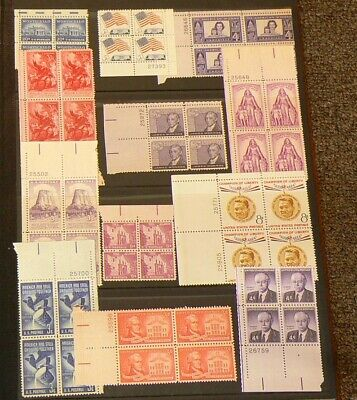 US 138 Blocks MH Stamps Lot of 552 Mint Stamps #5319