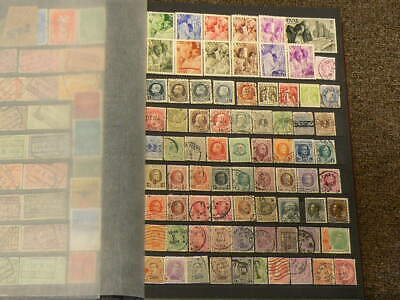 Belgium Over 580 Cancelled Stamps #5194