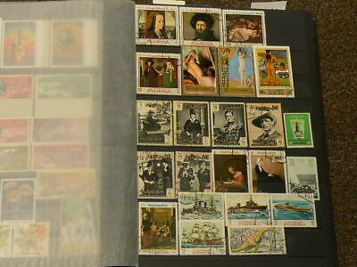 Fujeira Over 160 Cancelled Stamps #5063
