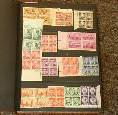US 130 Blocks MH Stamps Lot of 520 Mint Stamps #5318