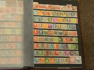 Denmark Over 330 Cancelled Stamps #5197
