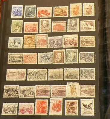 Czechoslovakia Over 425 Cancelled Stamps #5315