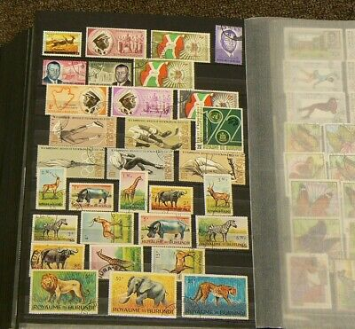 Burundi Lot of Over 165 Stamps #5545