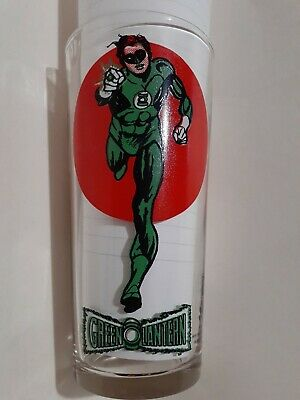1976 Green Lantern Pepsi Collectors Super Series Drinking Glass Dc Comics