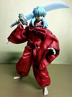 "Inuyasha 12"" 1/6 scale Action Figure Toynami Hot Toy Medicom Side show Complete!"