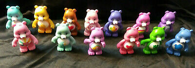 13 Care Bears 3in Figures Mini Poseable Just Play TCFC JP lot good luck share