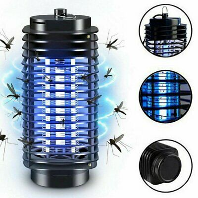 LED Electric UV Mosquito Killer Lamp Fly Bug Insect Repellent Zapper Trap New