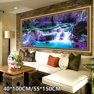 DIY 5D Diamond Painting Embroidery Cross Craft Stitch Art Kit Home Decor Gifts