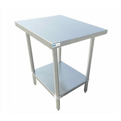 "30"" x 18"" Stainless Steel Commercial Work Table SS Legs Undershelf"