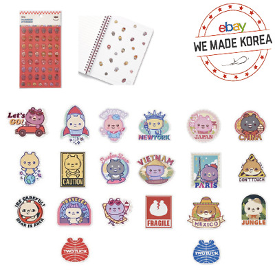 TWOTUCKGOM MONSTA X Travel Sticker & Fashion Sticker Official KPOP Authentic MD
