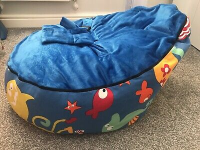 Baby Beanbag With Harness Sea Themed