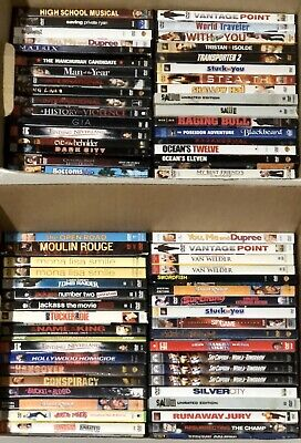 Lot of 10 DVDs ~ YOU CHOOSE!  Over 100 Titles to Pick From!  Action, Comedy