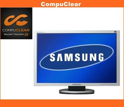 """Samsung SyncMaster 940 BW - 19"""" Widescreen LCD Monitor - Grade A with Cables"""