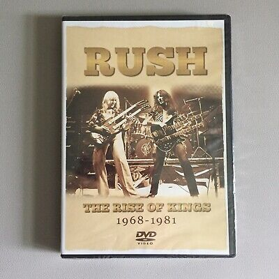 Original RUSH - DVD - The Rise Of Kings 1968-1981 - New/Sealed - English Format