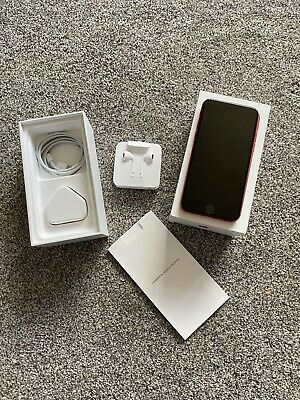 Apple iPhone 8 - (PRODUCT)RED - 64GB - (Unlocked) - Boxed with Accessories