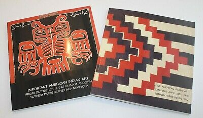 2 Sotheby's Auction Catalogs - Native American Indian Art - 1979