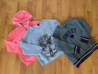 NEXT girls Hoodie Sweatshirt Bundle Age 7-8 Years