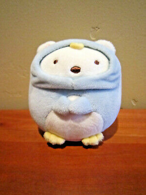 Ex cond Bear Penguin costume Mini Plush Doll Sumikko Gurashi from Japan