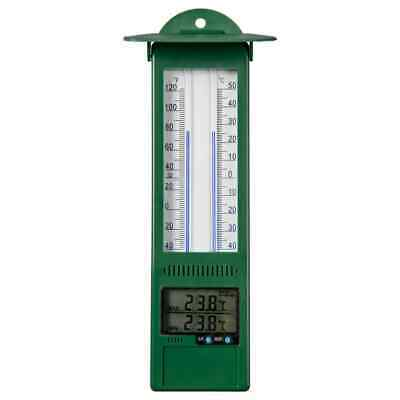 Nature Min-max Thermometer Digital 9.5x2.5x24cm Weather Forecasting Station~