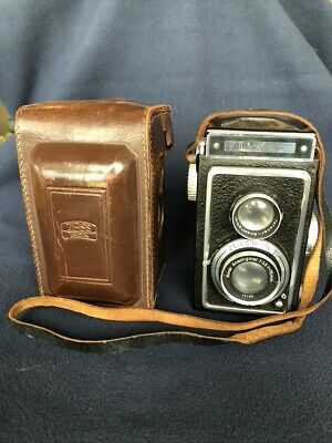 Zeiss Ikon Ikoflex Camera and Original Leather Case