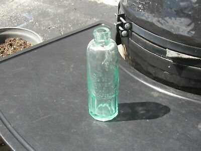 Antique 19th Century Holly Springs Water Bottle Swedesboro New Jersey