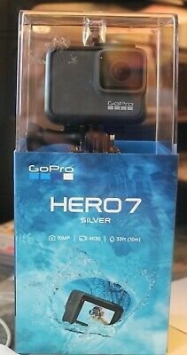 GoPro Hero7 Silver 10MP 4K30 Video Waterproof - BRAND NEW