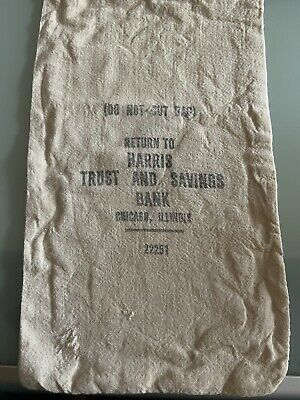 Vintage Harris Trust Money Bag