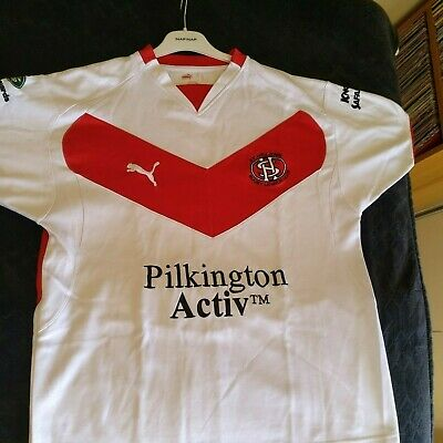 Official ST HELENS Saints Rugby League Home Shirt 2008 M