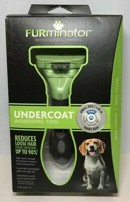 "SHORT HAIR FURminator Undercoat deSHEDDING TOOL Small Dog ""New"""