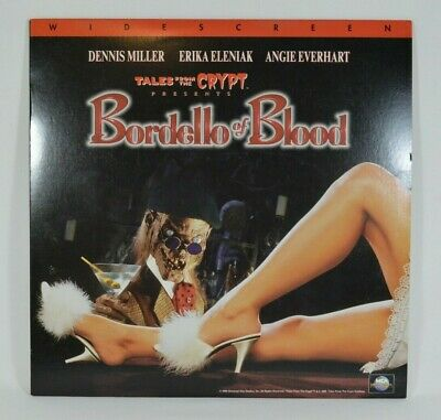 Tales from the Crypt Bordello of Blood Laserdisc RARE HORROR