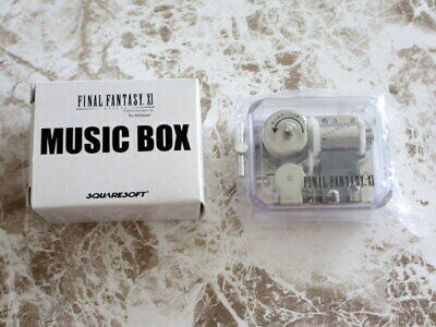 Final Fantasy 11 Xi Music Box Music Box With Box Non-Standard-Size 350 Yen